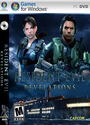 Resident Evil Revelations PC DVD Capa